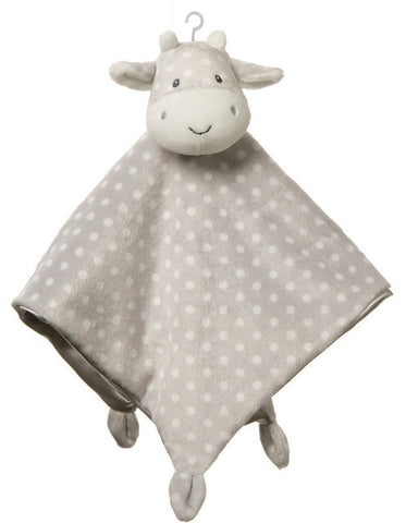 "Roly Polys Lovey Cow Security Blanket - 14"" - Baby Gund"