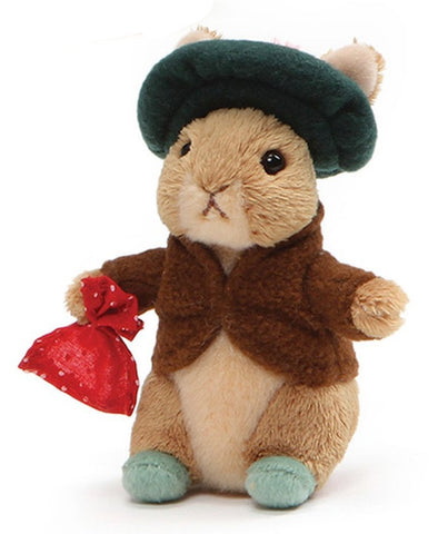 "Benjamin Bunny Plush Beanbag from Peter Rabbit - 5"" - Gund"