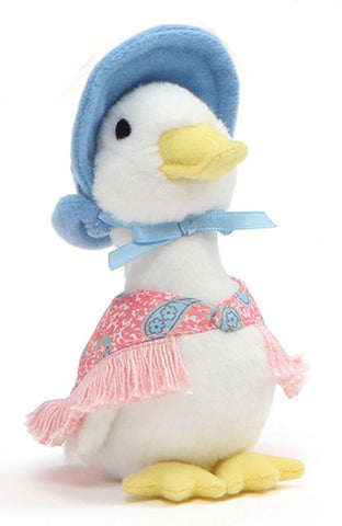 "Jemima Puddle Duck Plush Beanbag from Peter Rabbit - 5"" - Gund"