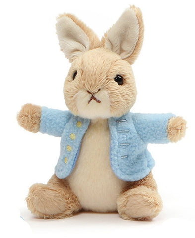 "Peter Rabbit Plush Beanbag - 5"" - Gund"