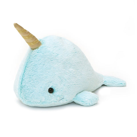 "Nori Narwhal Whale Stuffed Animal Medium - 12"" - Gund"