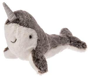 "Marshmallow Zoo Junior Narwhal Stuffed Animal - 9"" - Mary Meyer"