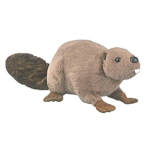 "Beaver Stuffed Animal - 8"" - Wildlife Artists"