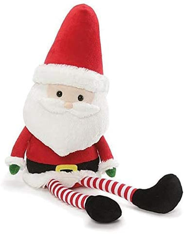 "Long Legs Santa Claus Plush Stuffed Animal - 19"" - Gund"