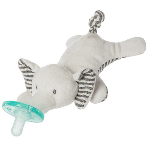 "Afrique Elephant WubbaNub Pacifier - 6"" - Mary Meyer Baby"