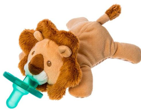 "Afrique Lion WubbaNub Pacifier - 6"" - Mary Meyer Baby"