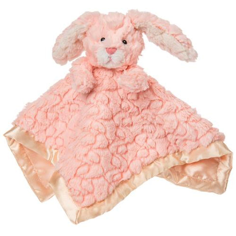 "Putty Nursery Pink Bunny Rabbit Character Blanket - 13"" - Mary Meyer Baby"
