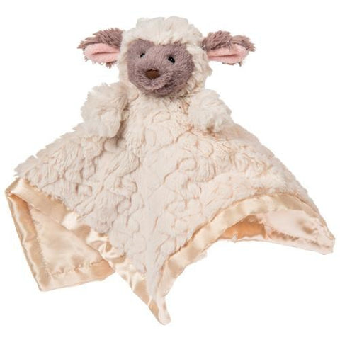 "Putty Nursery Lamb Character Blanket - 13"" - Mary Meyer Baby"