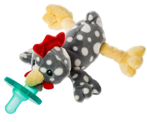 "Rocky Chicken WubbaNub Pacifier - 6"" - Mary Meyer Baby"