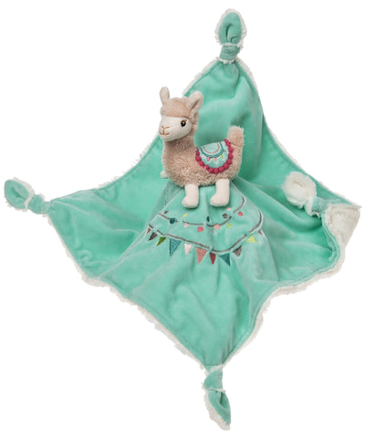 "Lily Llama Character Blanket - 13"" - Mary Meyer Baby"
