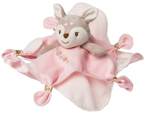 "Itsy Glitzy Fawn Baby Deer Character Blanket - 13"" - Mary Meyer Baby"