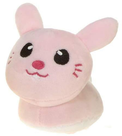 "Mini Mochi Easter Pink Bunny Plush Toy - 4"" - Fiesta"