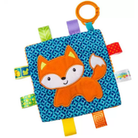"Taggies Crinkle Me Fox Activity Toy - 6.5"" - Mary Meyer Baby"