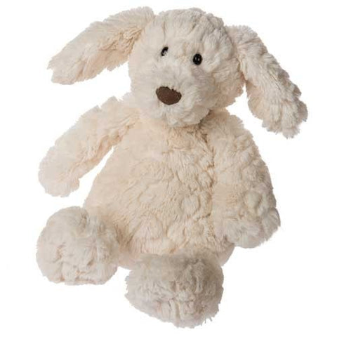 "Cream Putty Pup Medium Puppy Dog - 12"" - Mary Meyer"