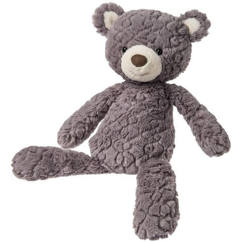 "Grey Putty Bear Teddy Medium - 17"" - Mary Meyer"