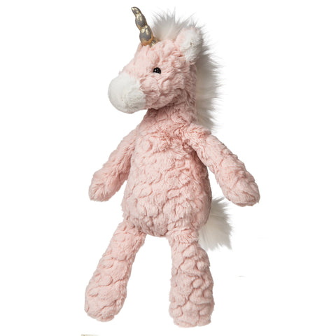"Blush Pink Putty Unicorn Stuffed Animal - 13"" - Mary Meyer"