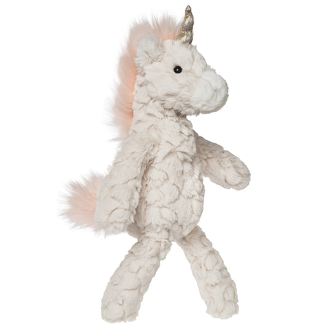 "Cream Putty Unicorn Stuffed Animal Small - 11"" - Mary Meyer"