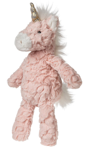 "Blush Pink Putty Unicorn Stuffed Animal Small - 11"" - Mary Meyer"