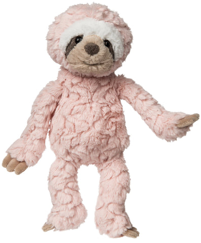 "Blush Pink Putty Sloth Stuffed Animal - 11"" - Mary Meyer"