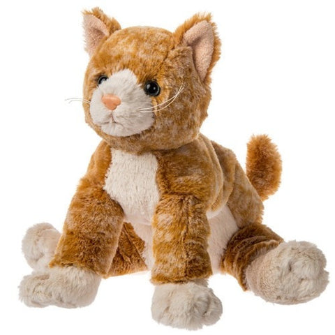 Fabfuzz Topaz Kitten Orange Tabby Cat Stuffed Animal 12 5 Mary