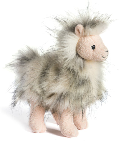 "FabFuzz Llama-glama Stuffed Animal Llama - 9"" - Mary Meyer"