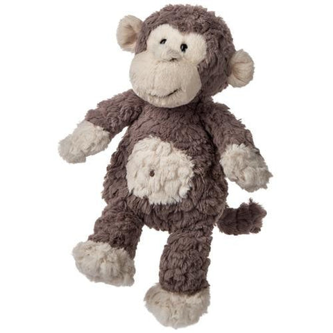 "Grey Putty Monkey Stuffed Animal - 12"" - Mary Meyer"