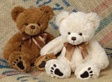 "Barton Teddy Bear - 9"" - Mary Meyer"