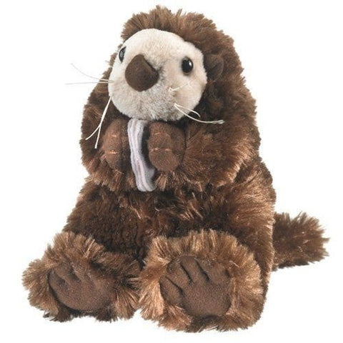 "Plush Sea Otter - 11"" - Wildlife Artists"