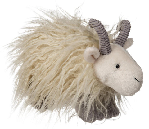 "FabFuzz Hairy Goat Stuffed Animal - 7.5"" - Mary Meyer"