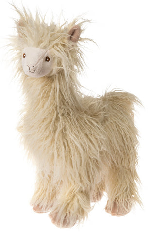"FabFuzz Andy the Standing Llama Stuffed Animal - 18"" - Mary Meyer"