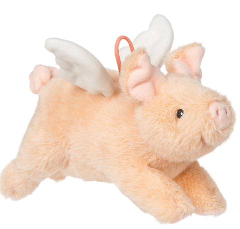"FabFuzz Piggles the Flying Pig Stuffed Animal - 7.5"" - Mary Meyer"