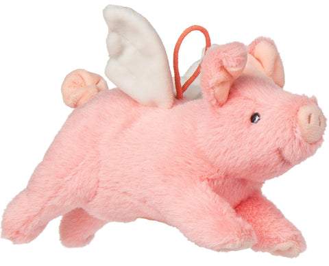"FabFuzz Piggles the Pink Flying Pig Stuffed Animal - 7.5"" - Mary Meyer"