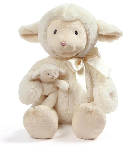 "Nursery Time Animated Talking Lamb - 10"" - Baby Gund"