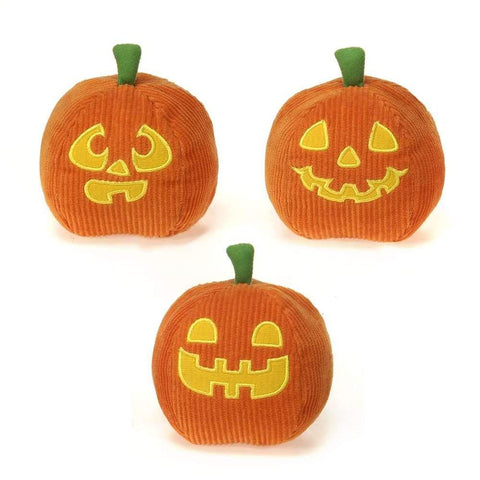 "Pumpkin Halloween Stuffed Animals - 4.5"" - Fiesta"