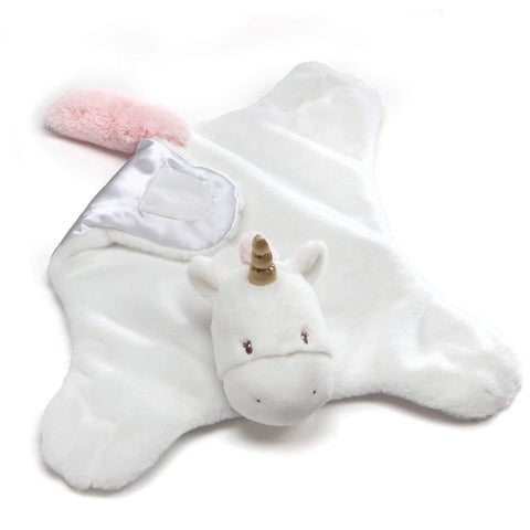 "Luna the Unicorn Comfy Cozy Blanket - 24"" - Baby Gund"