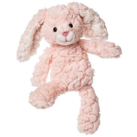 "Blush Pink Putty Nursery Bunny Rabbit - 11"" - Mary Meyer Baby"