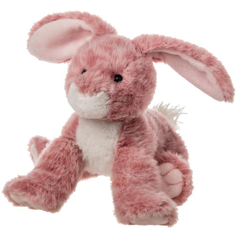 "FabFuzz Sally the Rose Colored Bunny Rabbit - 9"" - Mary Meyer"