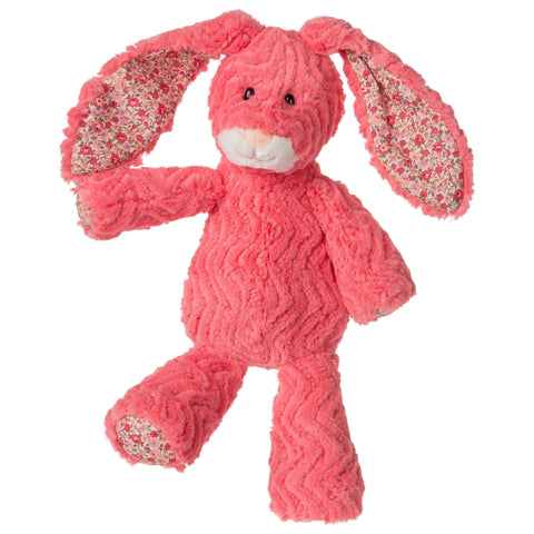 "FabFuzz Coralina the Hot Coral Bunny Rabbit - 15"" - Mary Meyer"