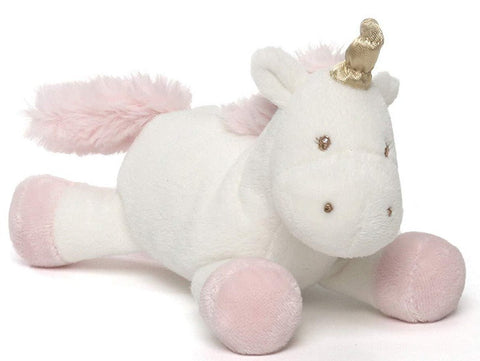 "Luna the Unicorn Plush Baby Rattle - 6.5"" - Baby Gund"