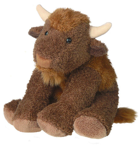"Sweet Beauregard Buffalo Plush Stuffed Animal - 9"" - Mary Meyer"