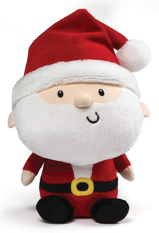 "Jolly Santa Claus Stuffed Animal Plush Toy - 9.5"" - Gund"
