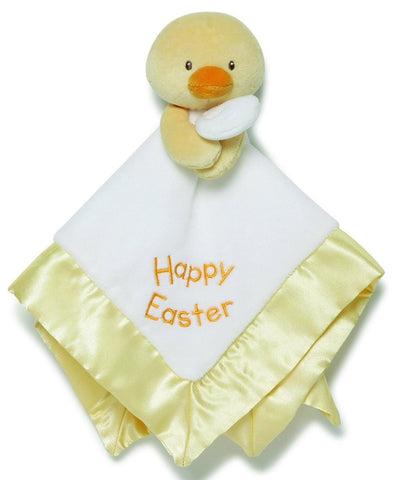 "Happy Easter Duck Lovey Baby Blanket - 14"" - Baby Gund"