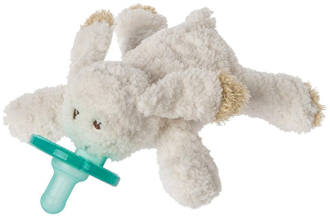 "Oatmeal Bunny Rabbit WubbaNub Pacifier - 6"" - Mary Meyer Baby"