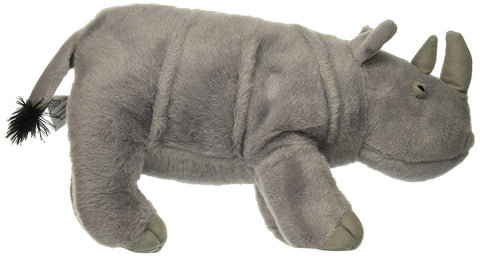 "Standing Rhino Stuffed Animal - 14"" - Fiesta"