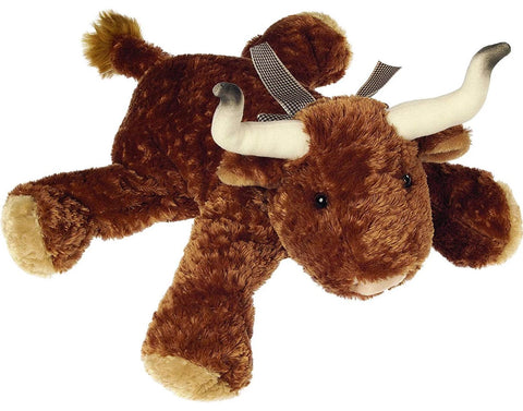 "Flip Flops Bubba Longhorn Bull Stuffed Animal - 12"" - Mary Meyer"