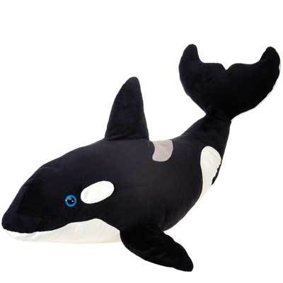 "Orca Stuffed Animal - 9"" - Fiesta"