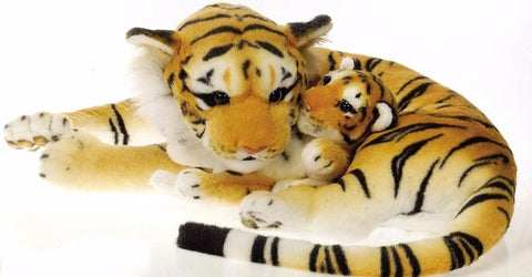 "Mama Tiger with Baby - 18"" - Fiesta"