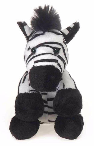"Lil' Buddies Zebra Stuffed Animal Beanbag - 5"" - Fiesta"