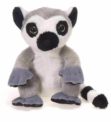 "Lil' Buddies Lemur Stuffed Animal Beanbag - 5"" - Fiesta"
