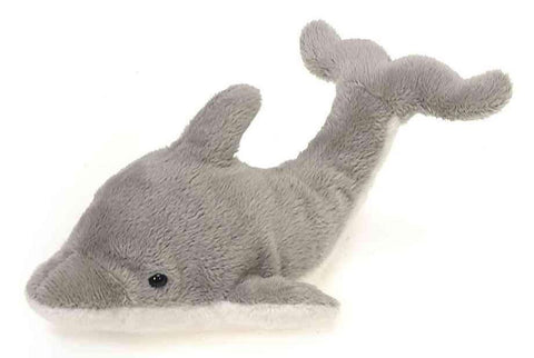 "Lil' Buddies Dolphin Stuffed Animal Beanbag - 6.5"" - Fiesta"